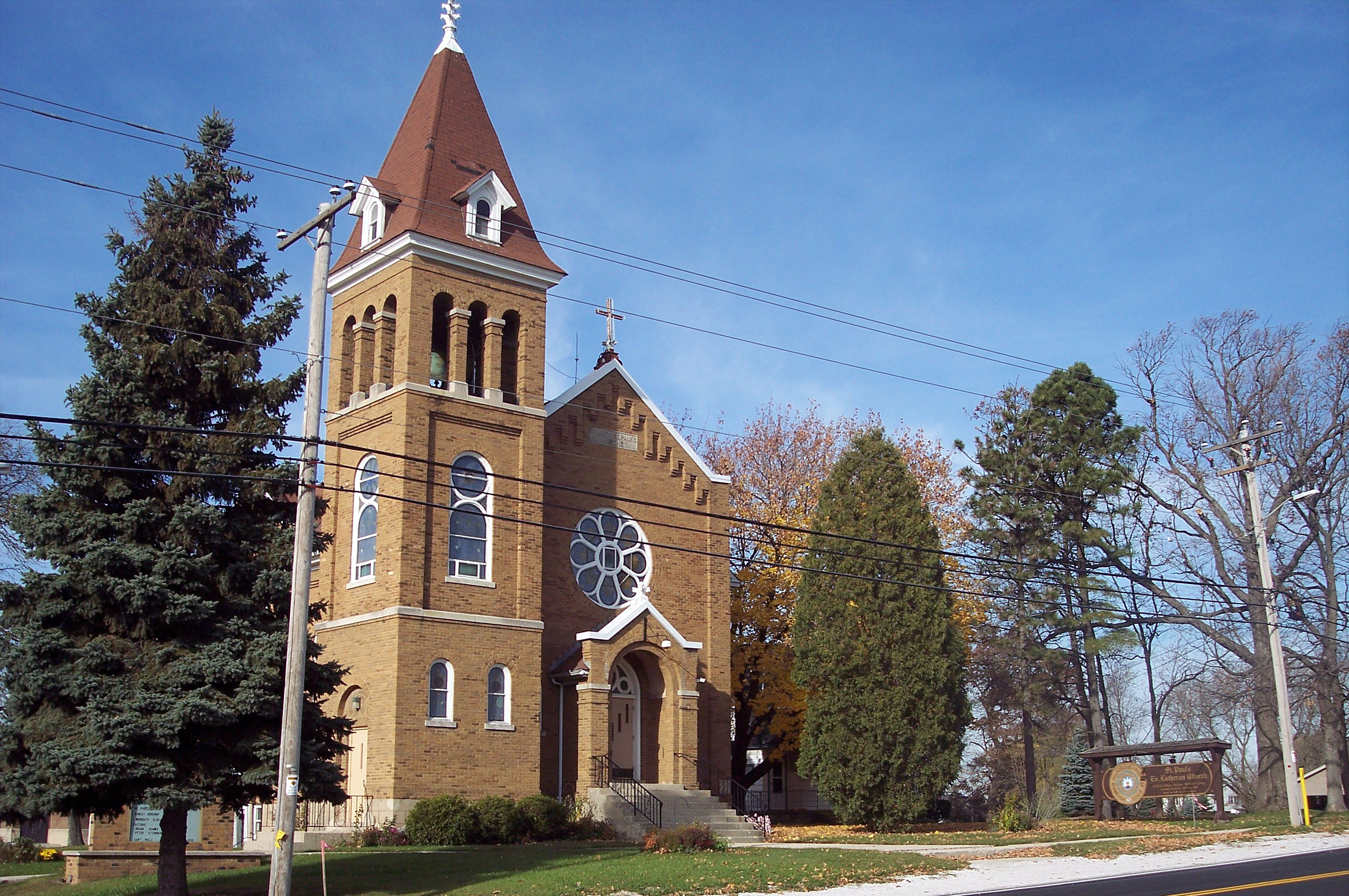 St  Paul's Lutheran Franklin, Wisconsin - Our History